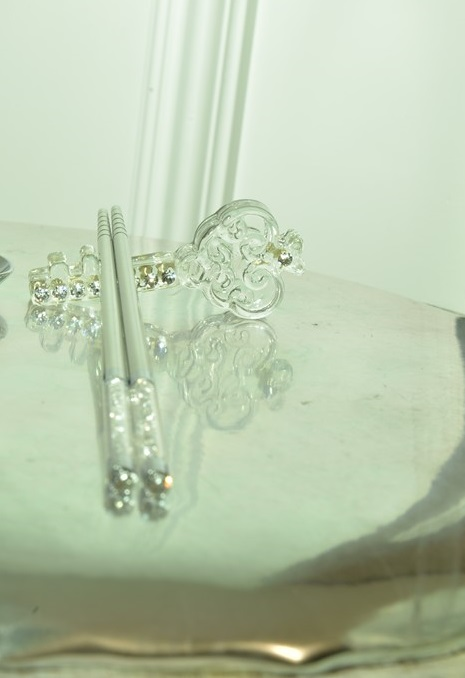 Crystal Chopstick Stand